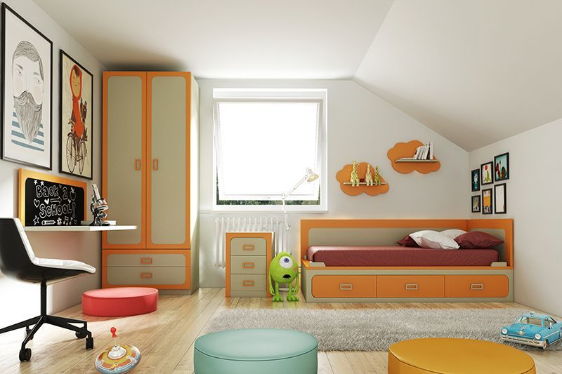 Mundo joven sonseca dormitorios juveniles for Muebles juveniles sonseca